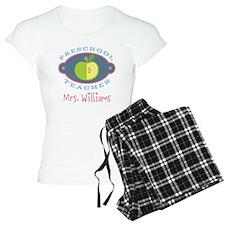 Personalized Preschool Teacher gift Pajamas