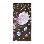 Diamonds and Pearls Beach Towel