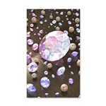 Diamonds and Pearls 35x21 Wall Decal
