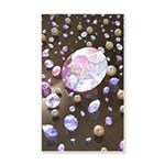 Diamonds and Pearls 20x12 Wall Decal