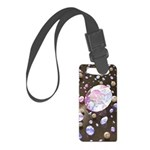 Diamonds and Pearls Small Luggage Tag