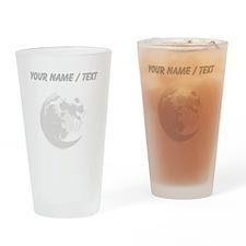 Custom Full Moon Drinking Glass
