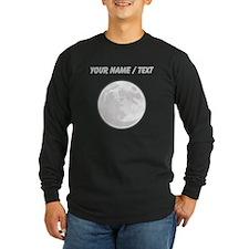 Custom Full Moon Long Sleeve T-Shirt