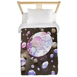 Diamonds and Pearls Twin Duvet