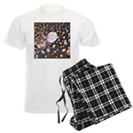 Diamonds and Pearls Men's Light Pajamas