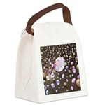 Diamonds and Pearls Canvas Lunch Bag