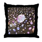 Diamonds and Pearls Throw Pillow