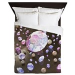 Diamonds and Pearls Queen Duvet