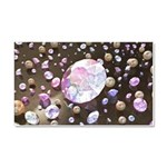 Diamonds and Pearls Car Magnet 20 x 12