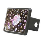 Diamonds and Pearls Rectangular Hitch Cover