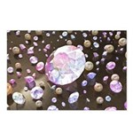 Diamonds and Pearls Postcards (Package of 8)