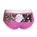 Diamonds and Pearls Women's Boy Brief
