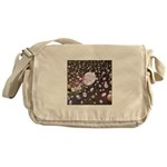 Diamonds and Pearls Messenger Bag