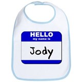 hello my name is jody  Bib