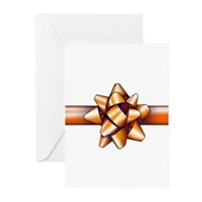 Gold Bow Greeting Cards (Pk of 20)