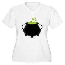 Witchs Pot Plus Size T-Shirt