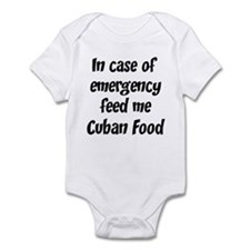 Feed me Cuban Food Onesie