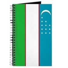 Uzbekistan Flag Journal