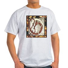 Dragon Knot Ash Grey T-Shirt