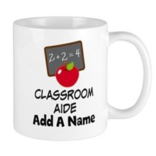 Personalized Classroom Aide School Mugs