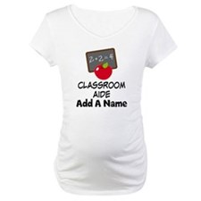 Personalized Classroom Aide School Shirt