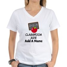 Personalized Classroom Aide School T-Shirt