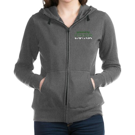 Powered By Veggies Zip Hoodie