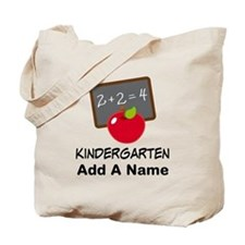Personalized Kindergarten Tote Bag
