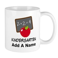 Personalized Kindergarten Mugs