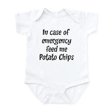 Feed me Potato Chips Infant Bodysuit