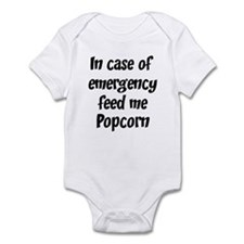 Feed me Popcorn Infant Bodysuit