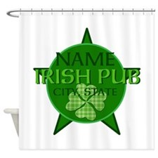 CUST PUB Shower Curtain