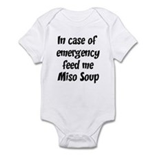 Feed me Miso Soup Infant Bodysuit
