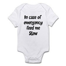 Feed me Stew Infant Bodysuit