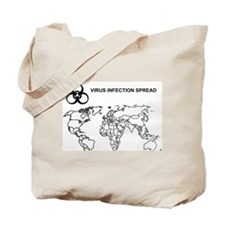 Virus Infection Tote Bag