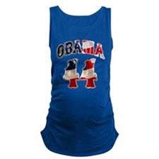 obama44flag4.png Maternity Tank Top