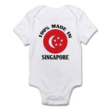 Made In Singapore Onesie
