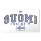Finland(Suomi) Hockey Decal