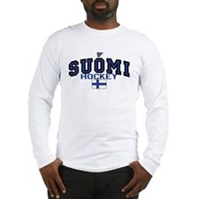 Finland(Suomi) Hockey Long Sleeve T-Shirt