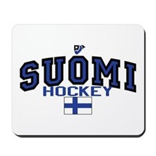Finland(Suomi) Hockey Mousepad