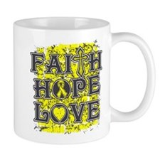 Endometriosis Faith Hope Love Mug