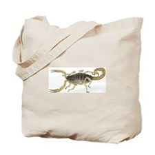 Light Scorpion Tote Bag