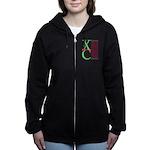 XC Run Light Green Scarlet Zip Hoodie