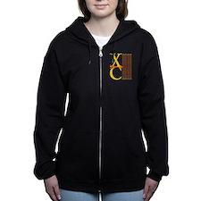 XC Run Yellow Orange Zip Hoodie