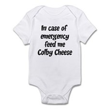 Feed me Colby Cheese Infant Bodysuit