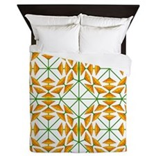 Eclectic Flower 352B Queen Duvet
