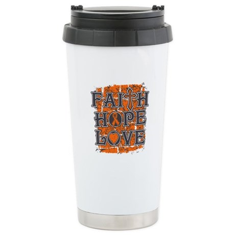 COPD Faith Hope Love Stainless Steel Travel Mug