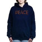 peace_letters02.png Hooded Sweatshirt