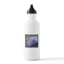 Monster Next Door Water Bottle