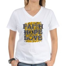 Appendix Cancer Faith Hope Love Shirt